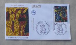 FDC  ANDRE MASSON L'HOMME ET LA FEMME    1984        0154 - FDC