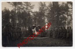 MESSE Militaire-Soldats-Religion-Prieres-Non Situee-Carte Photo Allemande-Guerre 14-18-1 WK- - Oorlog 1914-18