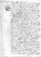 PROCEDURE  CIVILE -  Prets - Remboursements -  Communes De CRACH Et AURAY - 1855 - Alte Papiere