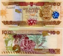 SOLOMON IS.         100 Dollars       P-30       ND (2008)       UNC  [ Sign. 9 ] - Isola Salomon