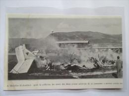 1933 -  Medellín, Colombia   -  CRASH à L'aéroport - Coupure De Presse Originale (avec Encart Photo) - Documentos Históricos