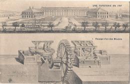 Une Papeterie En 1767  Rouage D'un Des Moulins Neuve TB (décollement Partiel Des Feuillets) - Artisanat