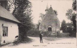 NESLETTE  301   L'EGLISE (ENFANT ET CYCLE) - France