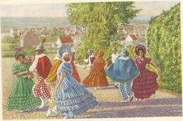 Chromo : Rongy - Le Groupe Des Gais Lurons - Folklore Belge Côte D'or 2 E Série  - N° 154 (chocolat) - Brunehaut