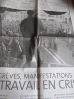 Dossier 8 Pages Le Monde 22/06/2003 : Gr�ve, manifestations, le travail en crise