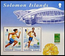 Salomon Solomon Islands 2002 Yvertn° Bloc 58C *** MNH Cote 6 Euro Sport - Salomon (Iles 1978-...)