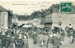 72 - BEAUMONT SUR SARTHE - Le Marché - Beaumont Sur Sarthe
