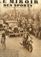 Le miroir des sports N�825 - 21 mai 1935 - Edgard de Caluw� - Bordeaux Paris