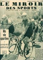 Le Miroir des sports N�1041 - 13 d�cembre1938 - cyclisme Andr� Leducq, Rugby am�ricain, Gusti Jordan