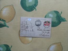 25.10.1916 Cartolina Postale In Franchigia R.Esercito Italiano Ufficio Posta Militare 227° Fan - 8. Occupazione 1a Guerra