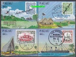 Palau 1985 Trade Agreement 4v (in Bl) ** Mnh (20468) - Palau