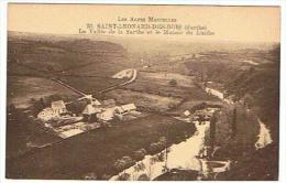 SAINT LEONARD DES BOIS LA VALLEE DE LA SARTHE ET LE MANOIR DU LINTHE - Saint Leonard Des Bois
