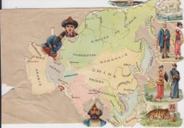 Chocolat D´Aiguebelle-Géographie-Asie (découpis à Positionner) - Aiguebelle