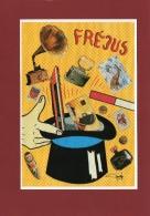 ILLUSTRATEUR JACQUES LARDIE JIHEL POUR LE 2ÉME SALON DE FREJUS 1991 - Collector Fairs & Bourses