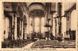 BELGIQUE - FLANDRE OCCIDENTALE - LEDEGEM - St-ELOOIS-WINKEL - Binnenzicht Der Kerk. - Ledegem