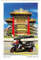Bangkok:  TUK-TUK TAXI - Yaowarat Road - China Town -  Thailand - Taxis & Fiacres