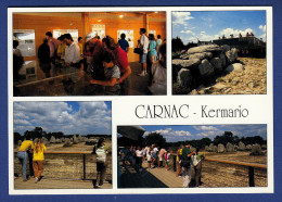 56 CARNAC Site De Kermario, Aménagé Monuments Historiques Assurer Protection Alignements Mégalithiques 4 Vues - Animée - Carnac