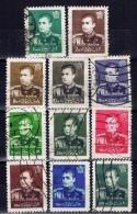 IR+ Iran 1958 Mi 1038 1040 1047-50 1052-54 1056 1059 Schah Reza Pahlevi - Iran