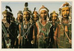 NIGER   ABALA:  FESTE  BORORO     (NUOVA CON DESCRIZIONE DEL SITO SUL RETRO) - Niger