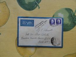 Lettera Affrancata  Per Intedenza Comando Superiore FF.AA. Posta N.23 P 1942 - 1900-44 Vittorio Emanuele III
