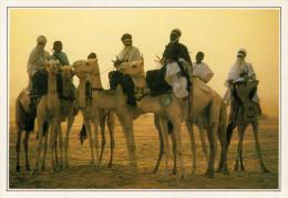"""NIGER   TEGUIDDA-I-N-TESSOUM: LA """"CURA DEL SALE""""     (NUOVA CON DESCRIZIONE DEL SITO SUL RETRO) - Niger"""