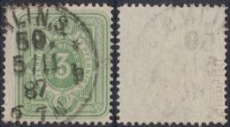 DR 1887 Nr. 39 DIIc Gest. K1 Berlin 50 Gepr. PETRY BPP Mi. € 35,- - Oblitérés