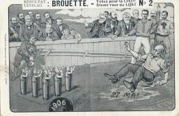 Uitslag: Brouette - Stemt Voor De Lijst N° 2 - Satirisch