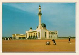 NIGER:   NIAMEY:   LA  MOSCHEA      (NUOVA CON DESCRIZIONE DEL SITO SUL RETRO) - Niger