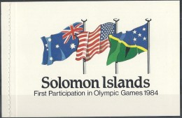 Salomon Solomon Islands 1984 Yvertn° Carnet C518 522 *** MNH Cote 22,50 Euro - Salomon (Iles 1978-...)