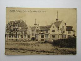 Cpa/pk Breedene Sur Mer Sanatorium Marin Edit Bolle Aubette Journaux - Bredene