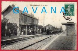80 MARCELEPOT - La Gare - Andere Gemeenten