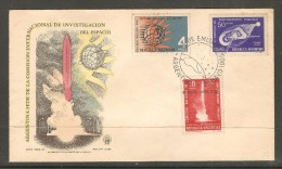 ARGENTINA    SCOTT # 772,C 98-9 On FDC (May 29 1965) - FDC