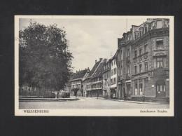 France Carte Postale Weissenburg Anselmann Staden 1941 - Alsace