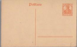Deutsches Reich 1908 Mi P 110 I * [290315KI] - Entiers Postaux