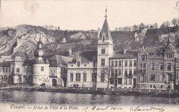 Cp , NAMUR , DINANT , Hôtel De Ville Et La Poste - Dinant