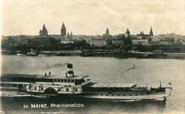 ALLEMAGNE(MAINZ) BATEAU - Mainz