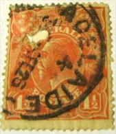 Australia 1924 King George V 1.5d - Used - 1913-36 George V: Heads