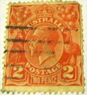 Australia 1915 King George V 2d - used