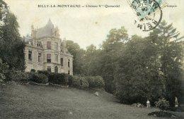 C3998 Cpa 51 Rilly La Montagne - Château Vve Quenardel - Rilly-la-Montagne