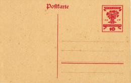 Deutsches Reich 1919 Mi P 115 * [290315KI] - Entiers Postaux