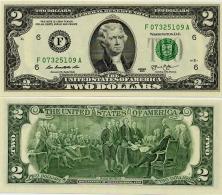 U.S.A.       2 Dollars       P-New       2013       UNC  [letter F: Atlanta] - Federal Reserve Notes (1928-...)