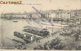 MARSEILLE : QUAI DES BELGES - CACHET EXPEDITIONNAIRE D'ORIENT DU 6 ème REGIMENT DU GENIE - GUERRE - Marseille