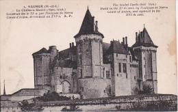 CPA Saumur - Le Château Féodal (13238) - Saumur