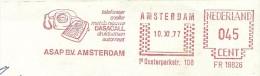 Firm Cover With Nice Meter DASA Telefomneer Sneller Met De Nieuwe DASACAL Druktoetsen Automaat, Amsterdam 10/11/1977 - Telecom
