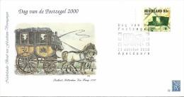 Special Cover Postkoets Otterdam Den Haag 1830 - Postkoetsen