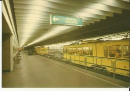 Bruxelles -- Métro  L. 1  Parc.    (2 Scans) - Vervoer (ondergronds)