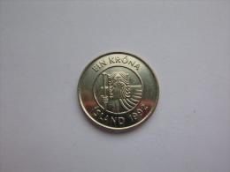 Island Islande 1 Krona 1992 - Otros – Europa