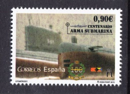 SPAIN ESPAGNE ESPAÑA 2015.  SUBMARINE - Duikboten