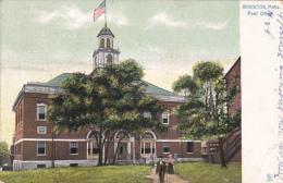 Massachusetts Brockton Post Ofice 1907 Tucks - Tuck, Raphael