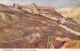 Jerusalem The South Wall Of Jerusalem Tucks - Tuck, Raphael